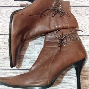 Bootqueen booties laced sides